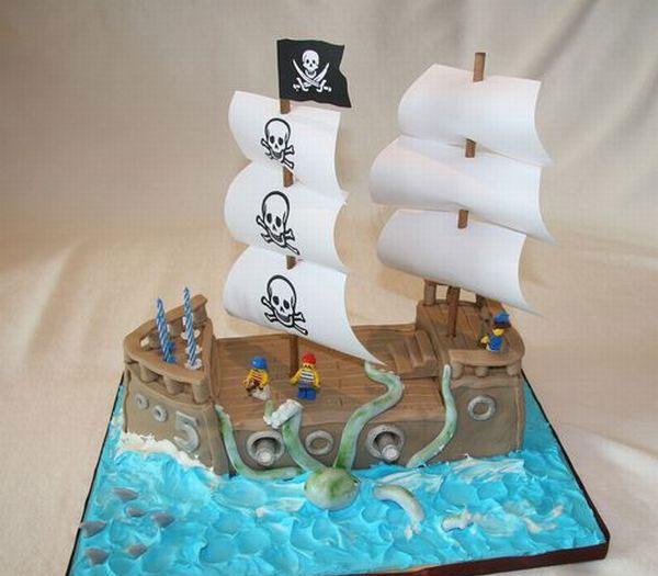 عکس های زیبا و دیدنی از کیک های تولد عجیب
