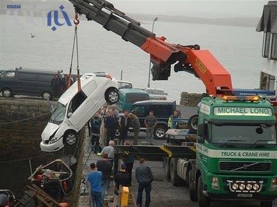 عکس هایی از یک حادثه عجیب در آلمان !!