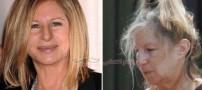 چهره واقعی زنان هالیوودی قبل و بعد از آرایش