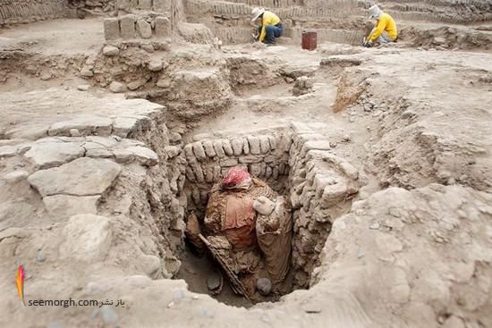 کشف 4 مومیایی بسیار عجیب در پرو!!