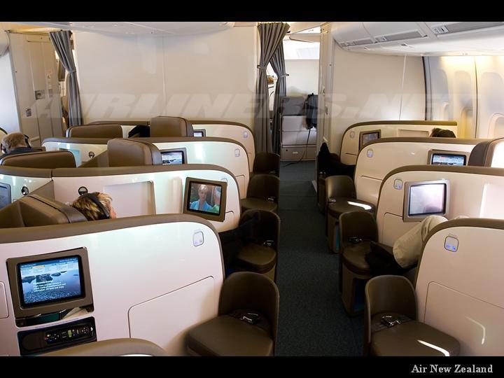 هواپیماهای فرست کلاس در کشورهای مختلف