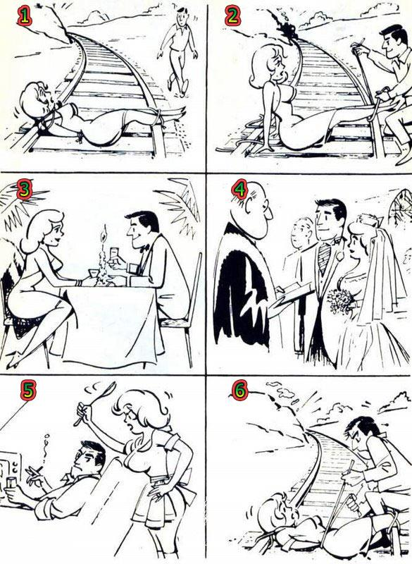 آخر عاقبت نجات دادن همسر (طنز تصویری)