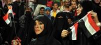 عکسهای هواداران زن فوتبال در کشورهای عربی
