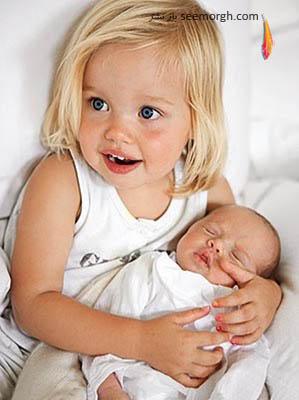 براد پیت و آنجلینا جولی و شباهتشان به یکدیگر!!