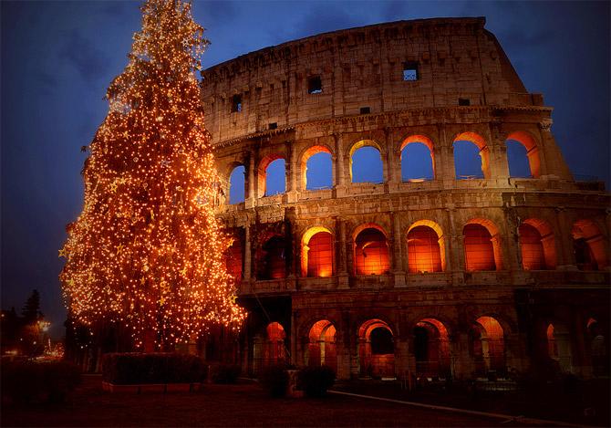 عکسهای از جشن کریسمس در نقاط مختلف جهان