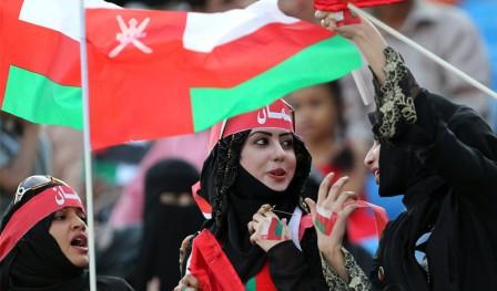 عکسهایی از هواداران زن فوتبال در کشورهای عربی