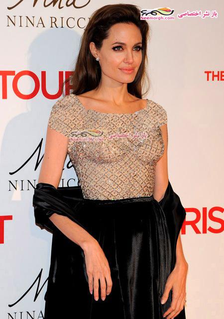 عکس های جدید و زیبای آنجلینا جولی در اسپانیا!!