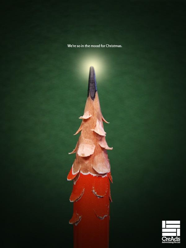 تبلیغات مبتکرانه به مناسبت کریستمس!