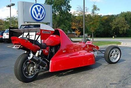 عکس های عجیب ترین موتورسیکلت های دنیا