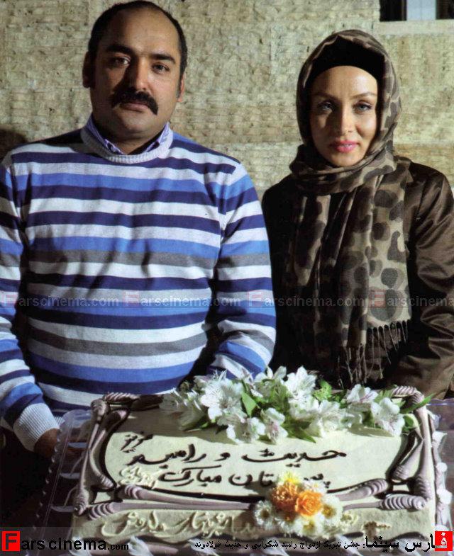 ازدواج دو بازیگر معروف ایرانی با یکدیگر (+عکس)