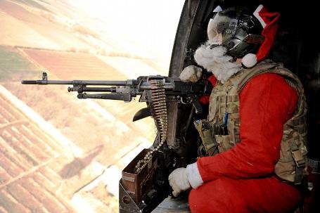 هدیه بابانوئل برای کودکان افغانی!