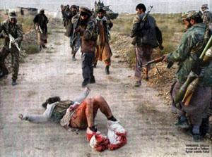 مردی که آلت تناسلی اش را طالبان بریدند (تصویری)
