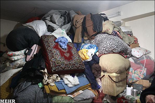 عشق پیرزن تهرانی به زباله (+عکس)