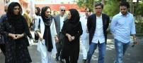 دعوت قطبی ازیک بازیگر زن به قطر!