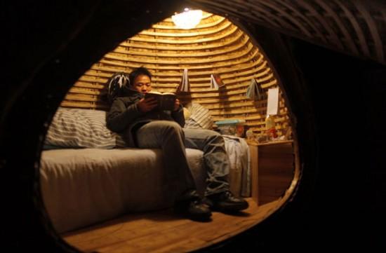 عکس هایی از عجیب ترین خانه و زندگی دانشجویی