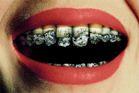عکس هایی بسیار زیبا و ضد سیگار کشیدن