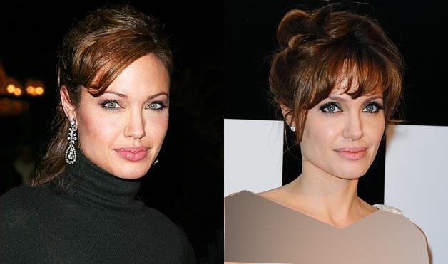 انواع مدلهای موی آنجلینا جولی