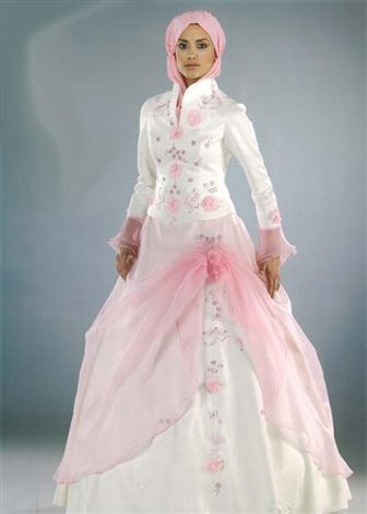 جدیدترین مدل های لباس عروس اسلامی 2011