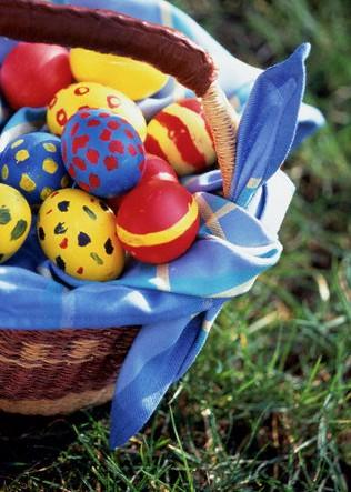 مدل های تخم مرغ برای سفره هفت سین (+آموزش)